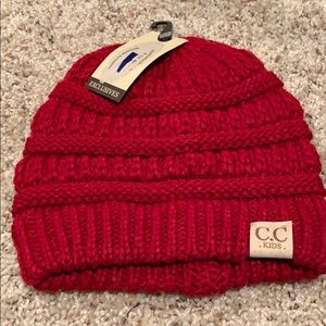 Other - Kids Beanie- Red